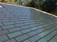 5.9kw Solar Shingles in Magnolia, Texas