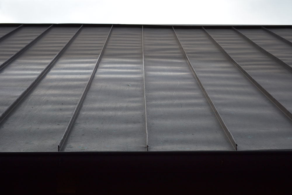 Copper Double Lock Oil Canning Brinkmann Quality Roofing