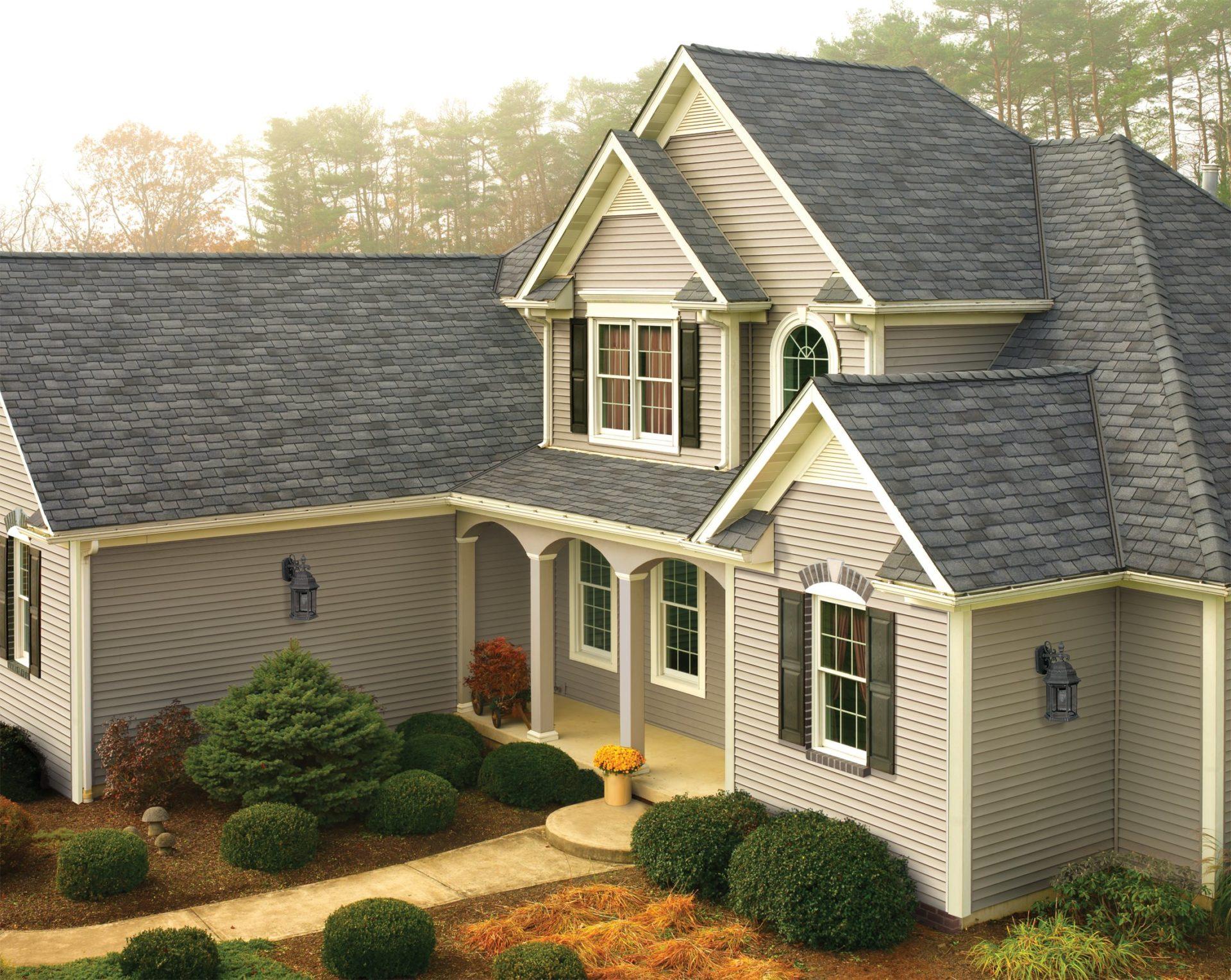 Gaf Woodland Castlewood Grey Brinkmann Quality Roofing