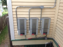 Dow Powerhouse Solar Shingles Inverters installed in Houston Texas