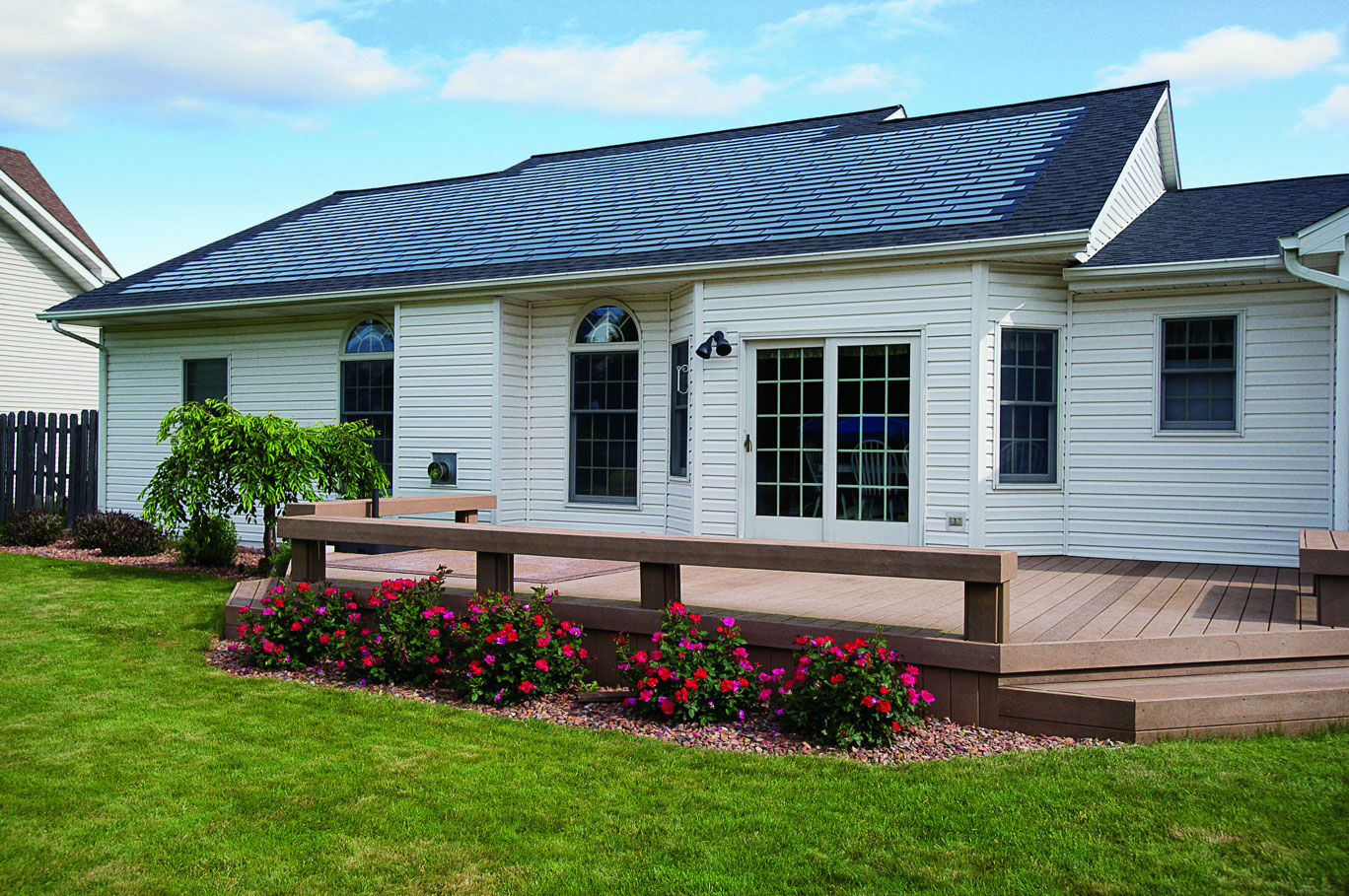 DOW Power House Solar Shingles