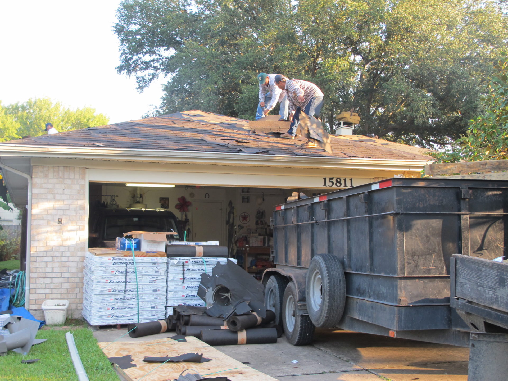 Trailer And Material Brinkmann Quality Roofing Services