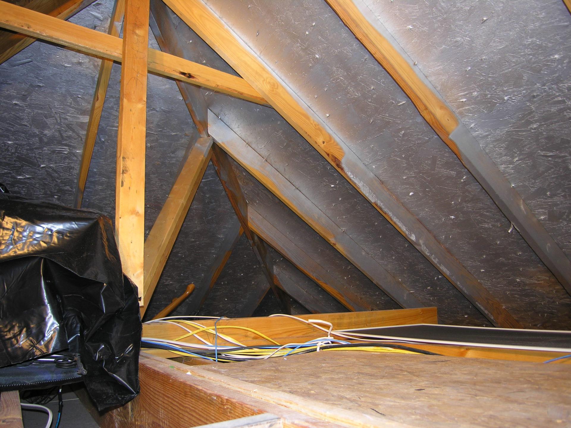 Heat Block deck sprayed