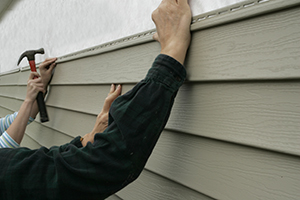 Wood siding needs to be treated every 4 to 6 years