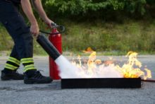 how to use fire extinguishers 220x147 How to use Fire Extinguishers!