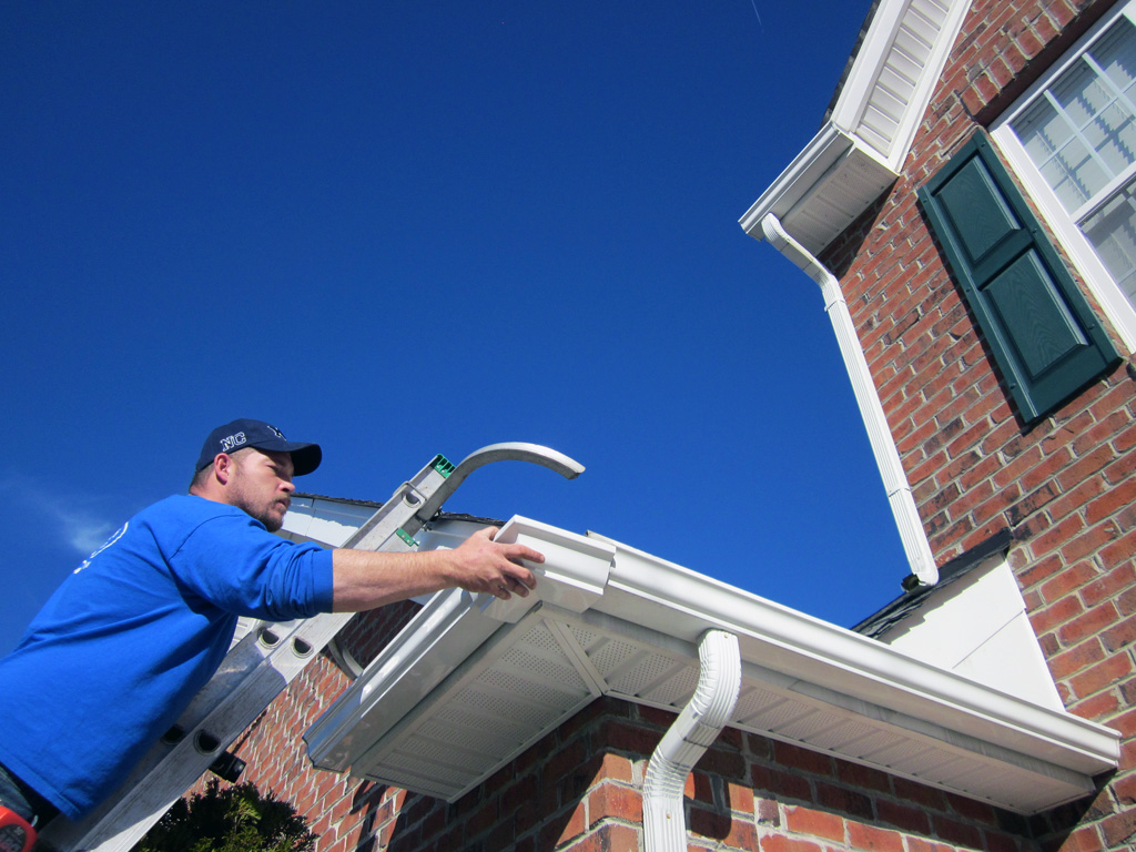 Brinkmann Quality Roofing Services offers a variety of gutters and downspouts