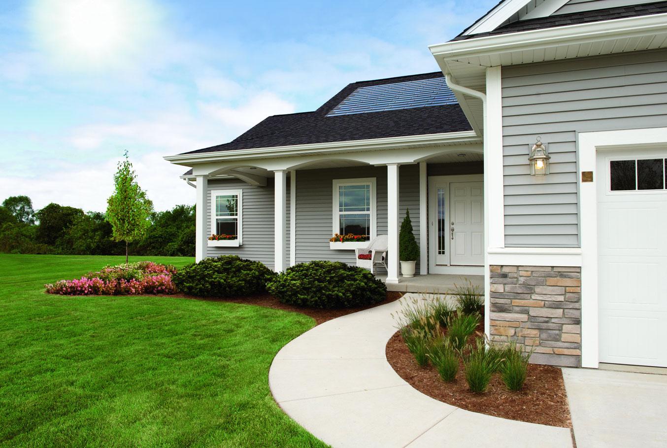 DOW Power House Solar Shingles